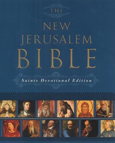 9780232524581: The New Jerusalem Bible Saints Devotional Edition