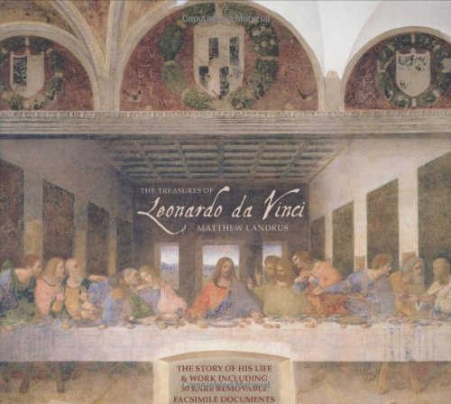 9780233001869: Treasures of Leonardo Da Vinci