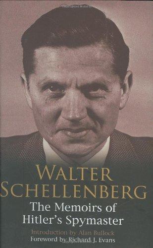 9780233002002: Walter Schellenberg: The Memoirs of Hitler's Spymaster