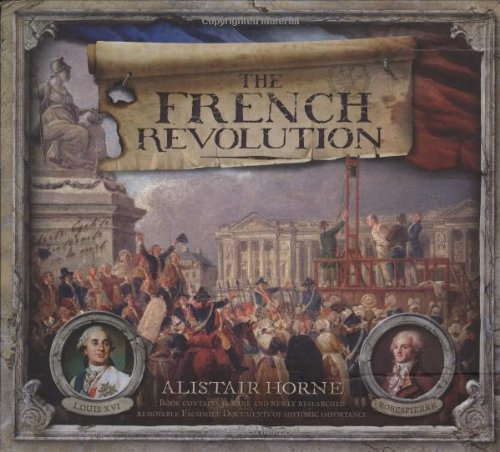 The French Revolution 9780233002354 Some say the French Revolution was a catastrophe waiting to happen. Certainly there were signs that it would. This book looks at the signals of its arrival, the mishandling of the situation by Louis XVI and the subsequent events that took place from the storming of the Bastille onwards, through the horrific events of the  Terror,  the reign of Robespierre, the political machinations and in-fighting and the advent of Napoleon who set a new order in motion and gave France some of its most fascinating moments, before crowning himself Emperor.