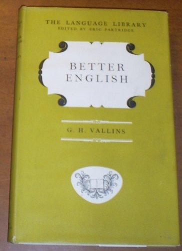9780233955261: Better English (Language Library)