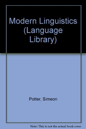 Modern Linguistics: Potter, Simeon