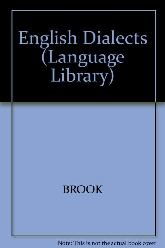 9780233956411: English Dialects (Language Library)