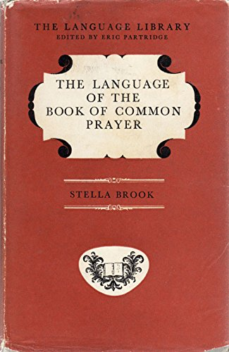 9780233957586: Language of the Book of Common Prayer (Language Library)
