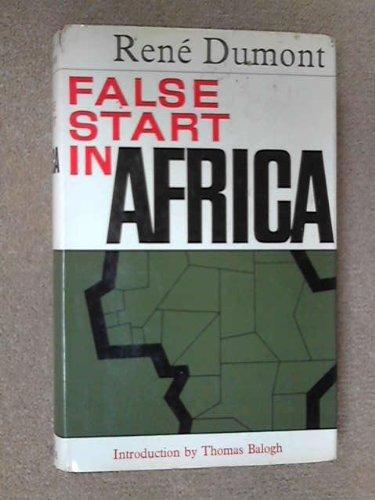 False Start in Africa: Rene Dumont