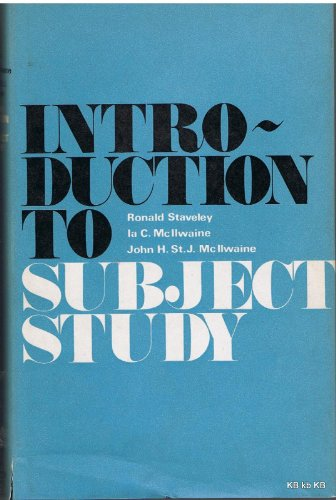 9780233959429: Introduction to Subject Study (Grafton Books)