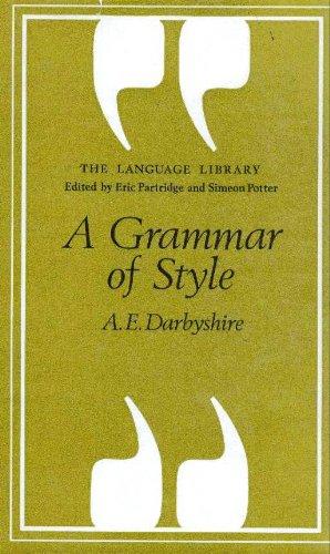 9780233960098: Grammar of Style (Lang. Lib.) (Language Library)