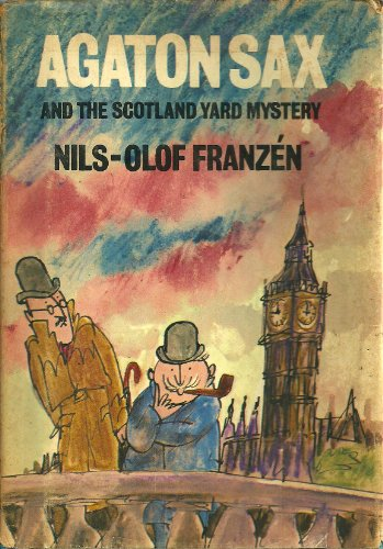 9780233960784: Agaton Sax and the Scotland Yard Mystery