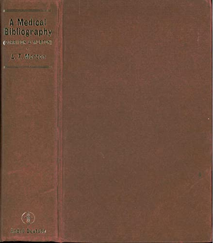 9780233961309: Medical Bibliography (Grafton Books)