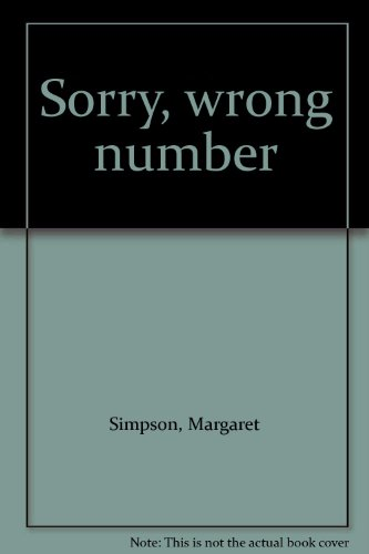 9780233964164: Sorry, Wrong Number