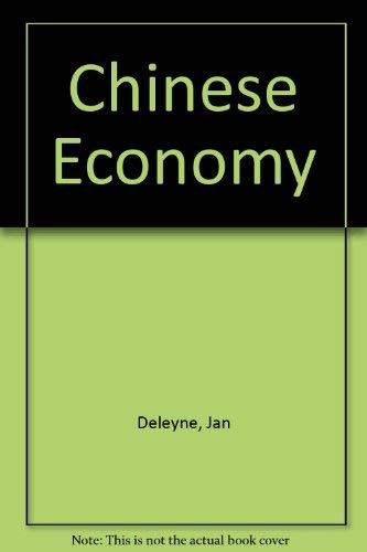 9780233964188: Chinese Economy