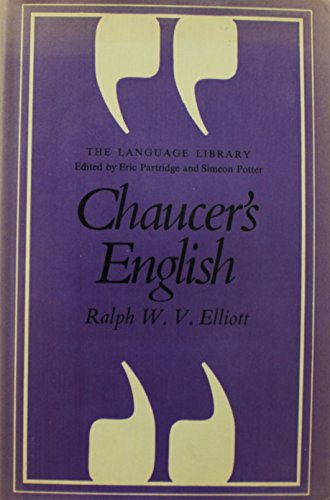 Chaucer's English (The Language library)