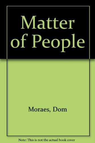 Stock image for Matter of People for sale by Reuseabook
