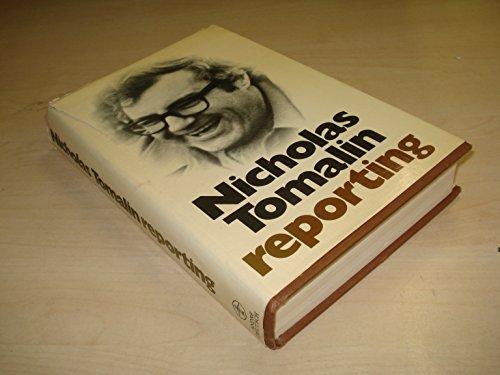 9780233966021: Nicholas Tomalin Reporting