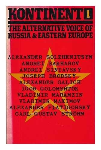 KONTINENT 1. The alternative voice of Russia: Solzhenitsyn. Joseph Brodsky.