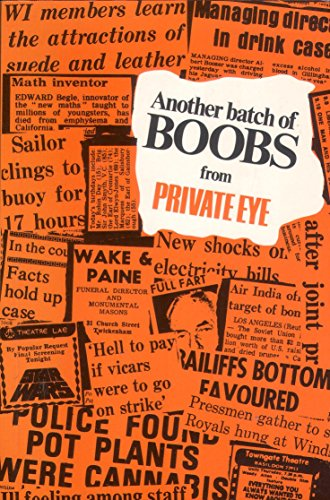 Another Batch of Boobs from Private Eye: Editor-Richard Ingrams