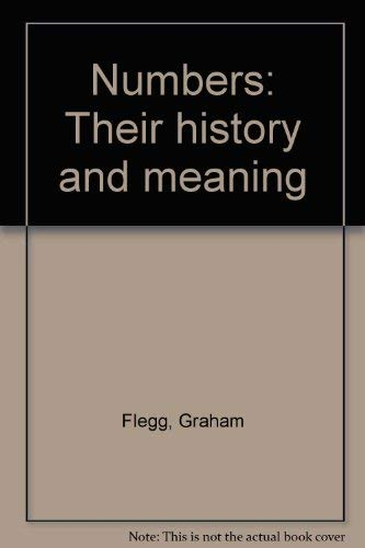 9780233972824: Numbers: Their History and Meaning