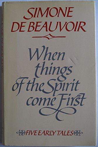 9780233974620: When Things of the Spirit Come First: Five Early Tales