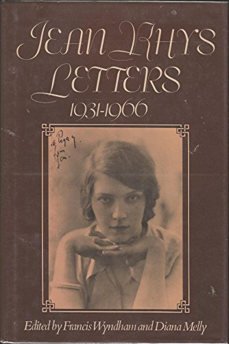 9780233975672: Jean Rhys Letters, 1931-1966