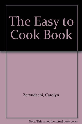 9780233976983: The Easy to Cook Book