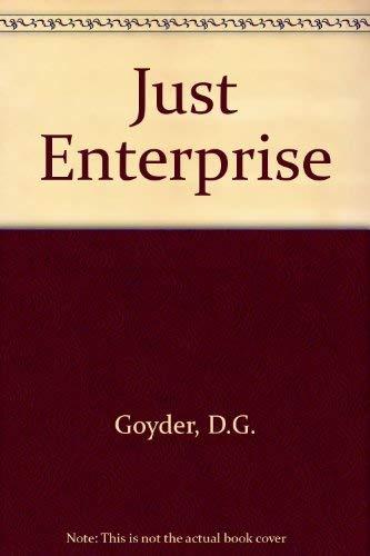9780233981574: Just Enterprise