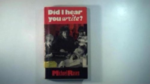 9780233983813: DID I Hear You Write ?