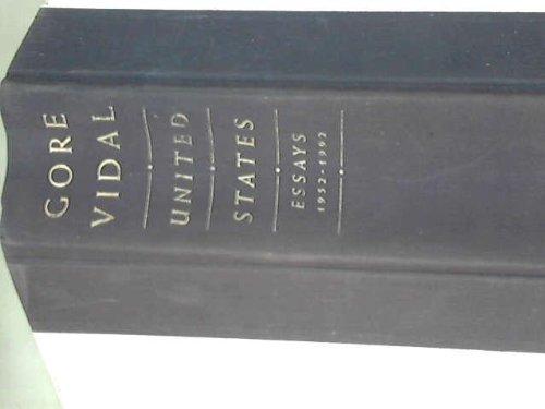 9780233988320: United States: essays, 1952-1992