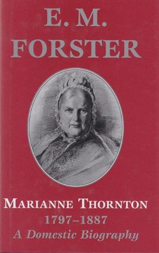 9780233993843: Marianne Thornton (Abinger Edition of E.M. Forster S.)