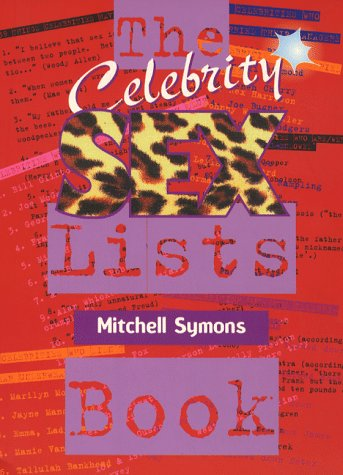 9780233994147: The Celebrity Sex Book of Lists