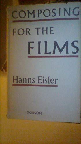 Composing for the Films: Eisler, Hans