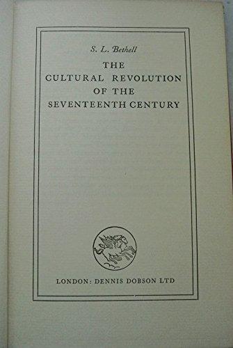9780234772041: Cultural Revolution of Seventeenth Century
