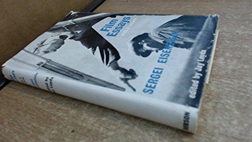 Film Essays: With a Lecture: Eisenstein, Sergei (edited by Jay Leyda)