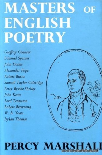 Masters of English Poetry: Percy Marshall
