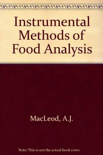 9780236154104: Instrumental Methods of Food Analysis