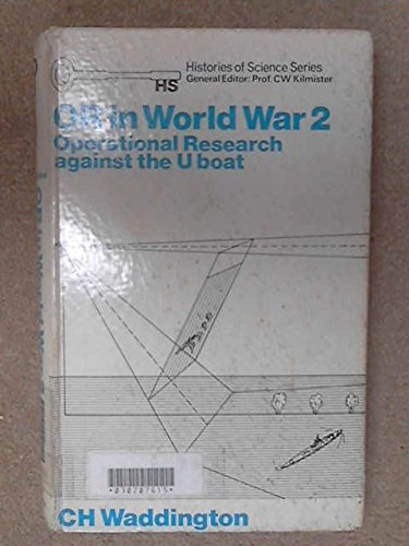 9780236154630: Operational Research in World War II (Histories of science series)