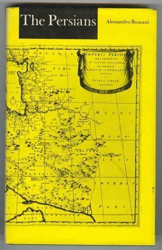 The Persians (Nations of the World): Bausani, Alessandro