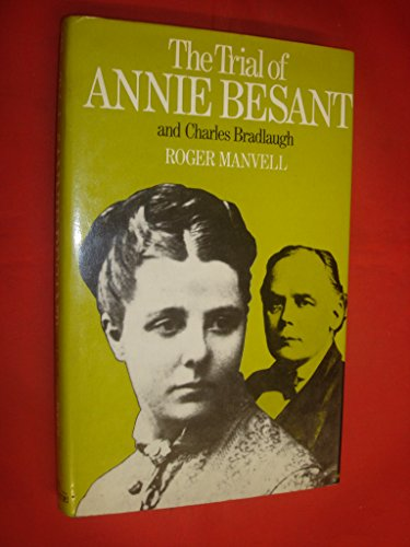 9780236400058: Trial of Annie Besant and Charles Bradlaugh