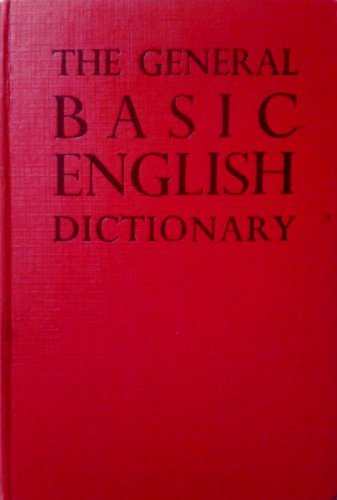 9780237280260: General Basic English Dictionary