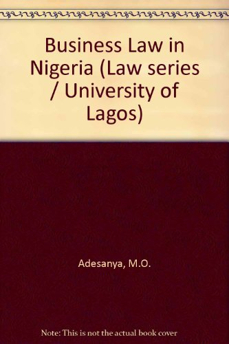 9780237288983: Business Law in Nigeria