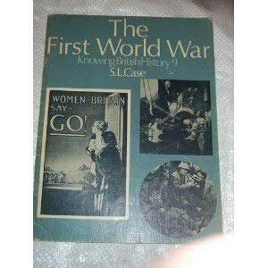 9780237291600: Knowing British History: The First World War v. 9