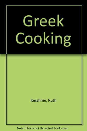 9780237449124: Greek Cooking