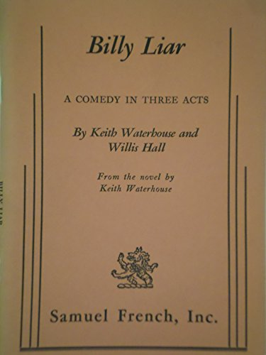 9780237490263: Billy Liar: Play (Waterhouse & Hall)