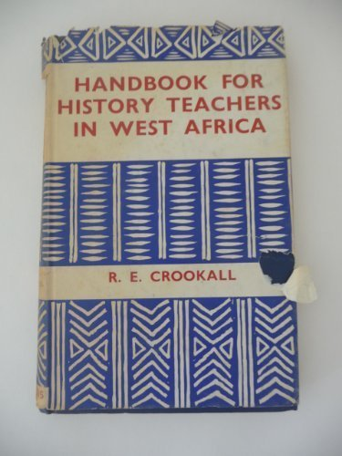 9780237497330: Handbook for History Teachers in West Africa