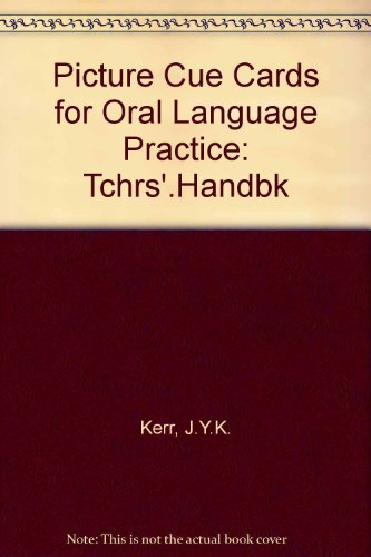 9780237503895: Picture Cue Cards for Oral Language Practice: Tchrs'. Handbk