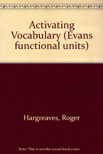 9780237504212: Activating Vocabulary (Evans functional units)