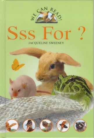 SSS is for? (We Can Read): Sweeney, Jacqueline