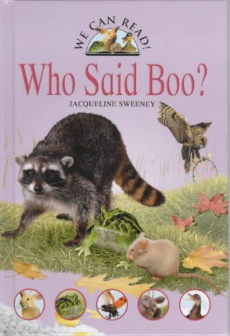 9780237521783: Who Said Boo? (We Can Read)