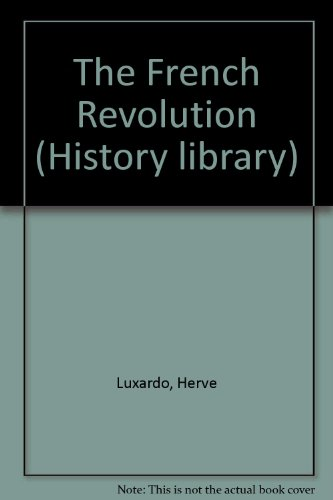 9780237602697: The French Revolution (History Library)