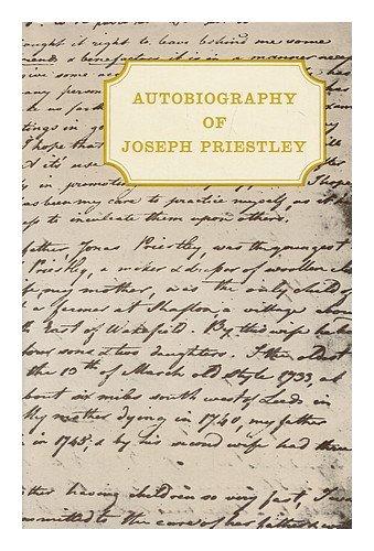 Autobiography: Priestley, Joseph