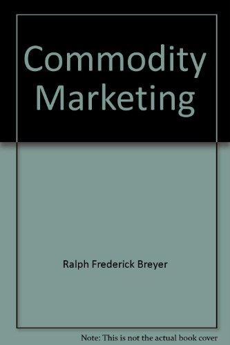 9780239967404: Commodity Marketing